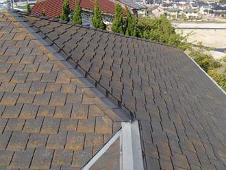 木更津市 遮熱塗料の「サーモアイSi」で屋根塗装 施工前