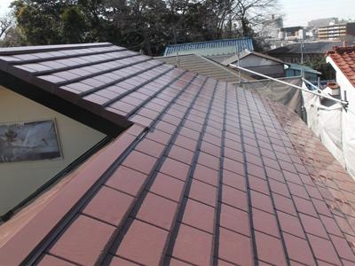 千葉県 習志野市 外壁と屋根の塗装 塗装後