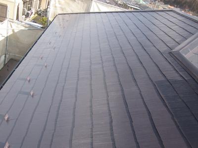 千葉県印旛郡酒々井町 屋根塗装 外壁塗装 完工後 屋根 写真