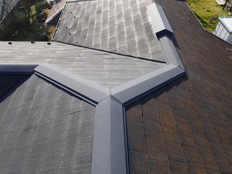 千葉県印旛郡酒々井町 屋根塗装 外壁塗装 塗装前 屋根 写真