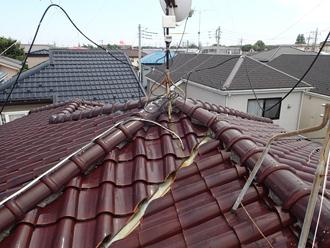 千葉県千葉市花見川区 屋根葺き替え 施工前