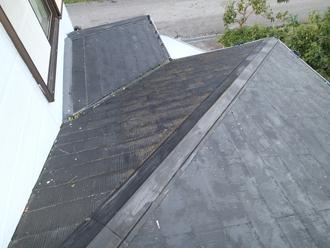 千葉県袖ヶ浦市 屋根塗装 棟板金交換 工事前