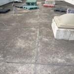 新宿区 ビルの雨漏り調査 屋上全景