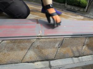 杉並区 建物点検 スレート屋根 雨漏り調査 細部にわたり屋根を点検