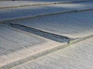 板橋区 スレート屋根 点検調査 カバー工法 スレート屋根材自体の割れ