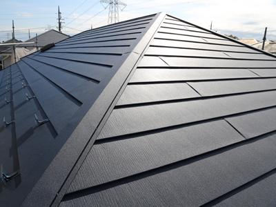 千葉県市原市 屋根カバー工法と外壁塗装 施工後