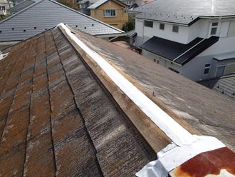 千葉県市原市 屋根カバー工法と外壁塗装 施工前