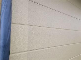 船橋市外壁塗装工事、中・上塗り002