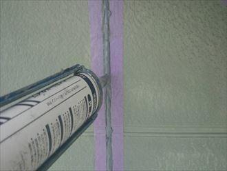 船橋市外壁塗装工事、下処理004