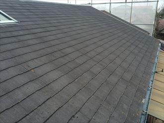 船橋市屋根カバー工事,足場、洗浄002