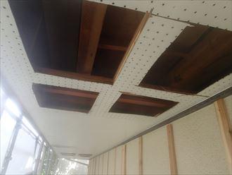 八千代市破風板、軒天補修003