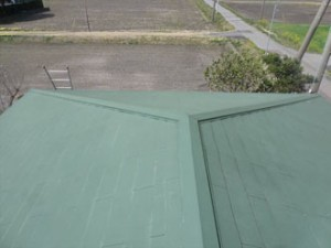 茂原市 屋根塗装調査 屋根俯瞰
