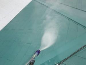 茂原市 屋根塗装調査 高圧洗浄