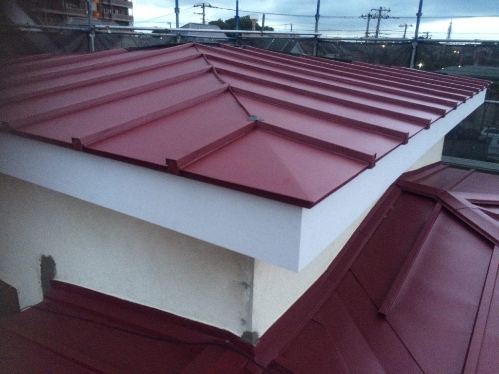 屋根の大改造