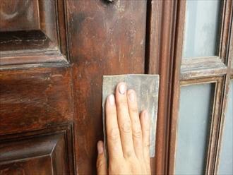 戸塚区、玄関ドア