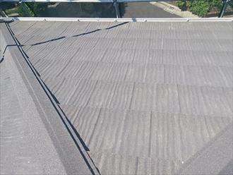 杉並区、屋根の葺き上がり
