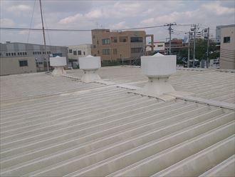 美浜区屋根工事施工前
