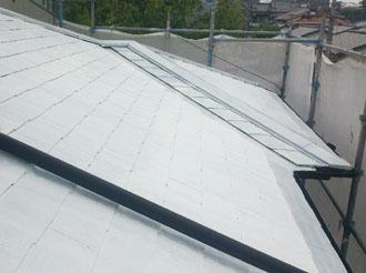 袖ケ浦市 屋根塗装 サーモアイシーラー 塗装後2