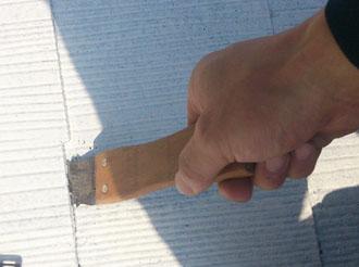 袖ケ浦市 屋根塗装 縁切り