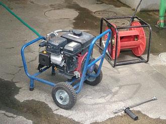 袖ケ浦 塗装工事 高圧洗浄機