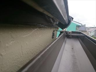 旭区、小さい雨樋