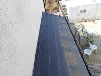 袖ケ浦市 調査 屋根の苔
