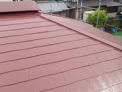 袖ケ浦市 屋根塗装 完工2