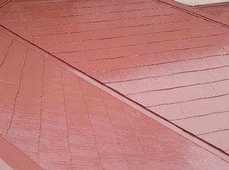 袖ケ浦市 屋根塗装 完工3