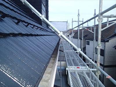 屋根塗装のツヤ