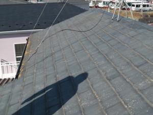 屋根葺き替え工事の事前調査