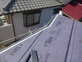 鎌ヶ谷市雨漏り点検、工事017