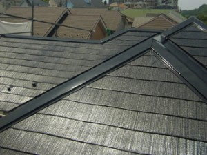 遮熱塗料による屋根塗装