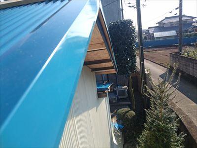 屋根完成ケラバ