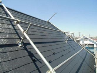 屋根塗装上塗り完工