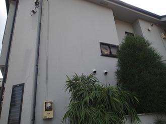外壁の汚れ塗膜の劣化