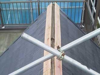 板金交換 貫板設置
