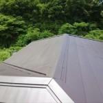 棟板金屋根,カバー工法,ガルバリウム鋼板