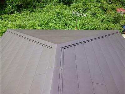 富津市,屋根カバー,ガルバリウム鋼板,横暖ルーフきわみ