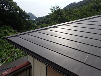 屋根カバー工事,棟,ガルバリウム鋼板