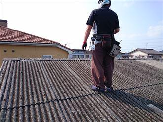 屋根,小波,スレート