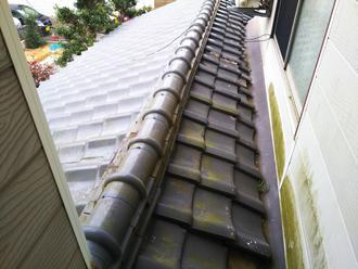 瓦屋根の状態