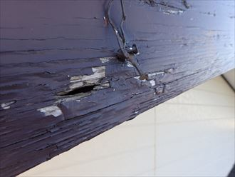 破風板,雨漏り