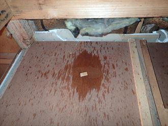 散水検査,雨漏り