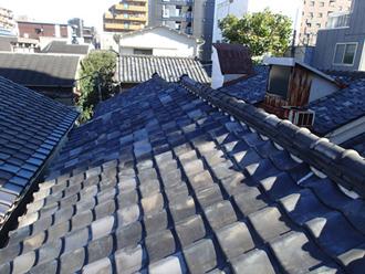 葛飾区の屋根葺き替えビフォア