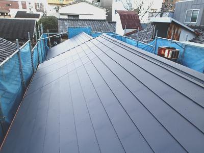 葛飾区の屋根葺き替えアフター