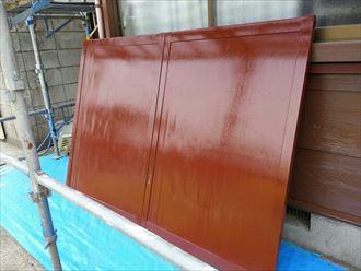 戸袋,塗装