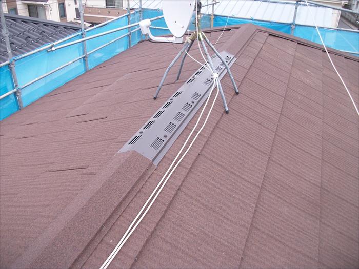 葛飾区 屋根カバー工法完了