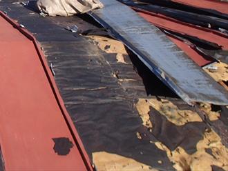 荒川区 屋根葺き替え工事 屋根材撤去
