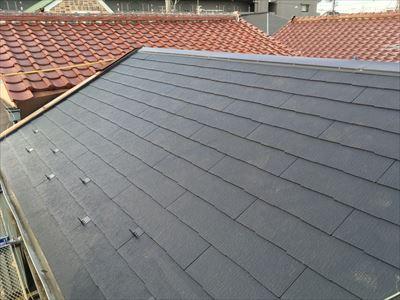 コロニアルクァッド,屋根葺き替え工事