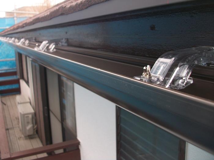 葛飾区 エスロンΣ-90をつかった雨樋交換工事 完了